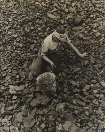 David Robbins, Untitled (young man foraging for coal), 1938 , Howard Greenberg Gallery
