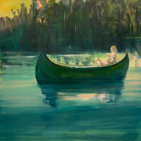 Deborah Brown, Night Rower IV, 2020 , GAVLAK