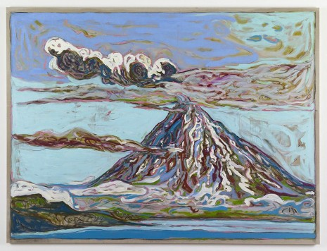 Billy Childish, Erupting Volcano (Sea View), 2011, Lehmann Maupin