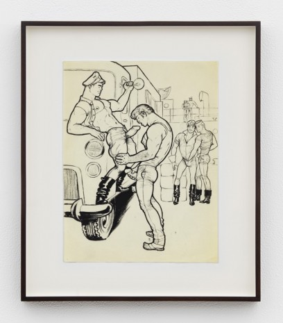 Tom of Finland, Untitled (from Trucker's Delivery Series), 1965 , David Kordansky Gallery