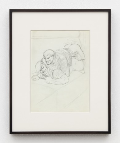 Tom of Finland, Untitled (Preparatory Drawing for Kake Vol. 16 -