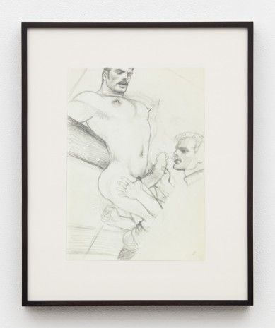 Tom of Finland, Untitled (Preparatory Drawing for Kake Vol. 21 -