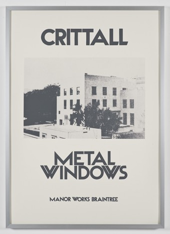 Barbara Bloom, Crittall Metal Windows (No. 1), 1972-2010, David Kordansky Gallery