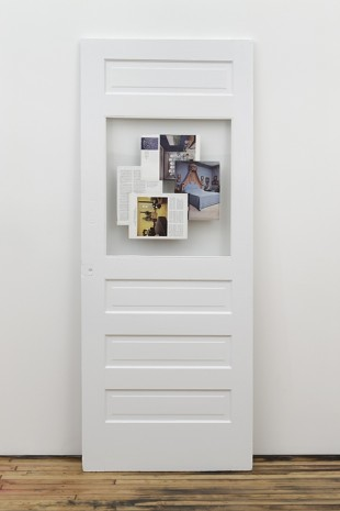 Tom Burr, Architectural Digest, (a door), 2010, David Kordansky Gallery