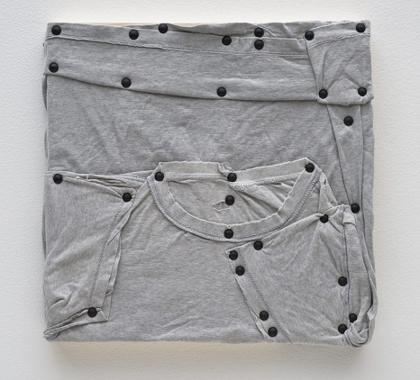Tom Burr, his personal effects (grey, one), 2012, David Kordansky Gallery