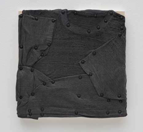 Tom Burr, his personal effects (black, five), 2012, David Kordansky Gallery
