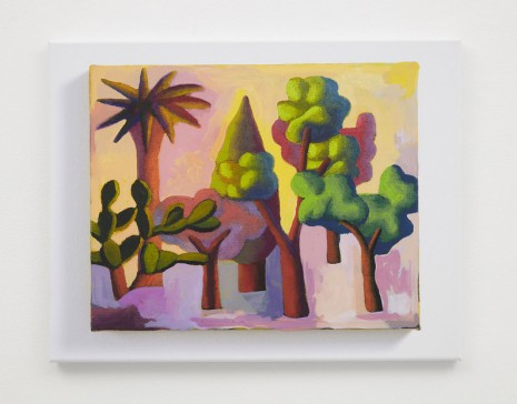 Jonathan Monk , Untitled (Trees) LXI, 2019 , Casey Kaplan