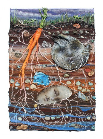 Kate Klingbeil , Rocks Which Weigh, Roots Which Bind, Soil Which Grounds, 2020 , Steve Turner