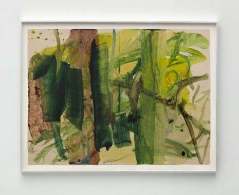 Mary Weatherford, In the cedar forest, 2019 , David Kordansky Gallery
