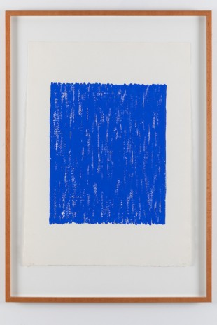 Arne Malmedal, Untitled II - blue, 1998, Galleri Riis