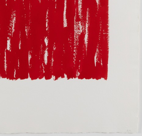 Arne Malmedal, Untitled II – red, 1998, Galleri Riis