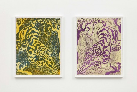 Sarah Crowner , Double Tiger (after PR) 4, 2019 , Casey Kaplan