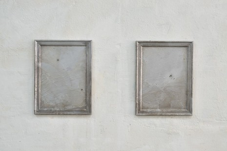 Jürgen Drescher, Two times casted paintings, 2012, rodolphe janssen