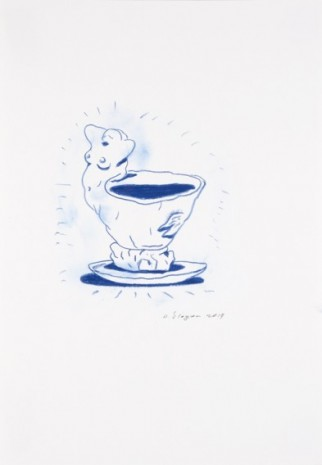 Armen Eloyan , Cup Drawing 3, 2019 , Tim Van Laere Gallery