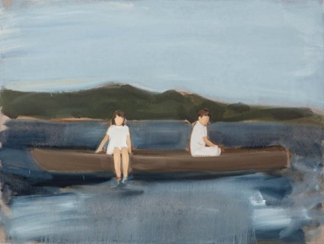Gideon Rubin, Untitled (Two in a Boat), 2019 , Monica De Cardenas