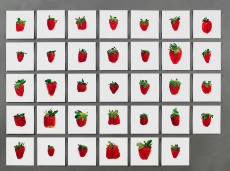 Hans-Peter Feldmann, One pound of strawberries, , Simon Lee Gallery