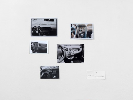 Hans-Peter Feldmann, Car radios while good music is playing, , Simon Lee Gallery