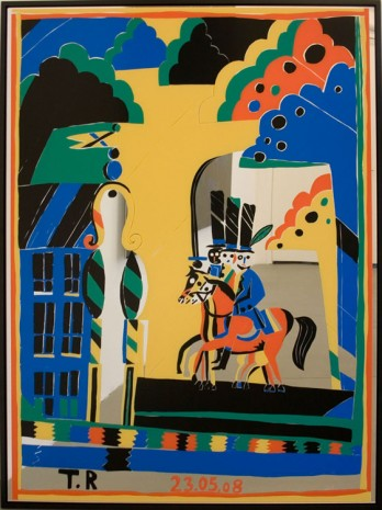 Tal R, We will ride, 2008 , Galleri Bo Bjerggaard