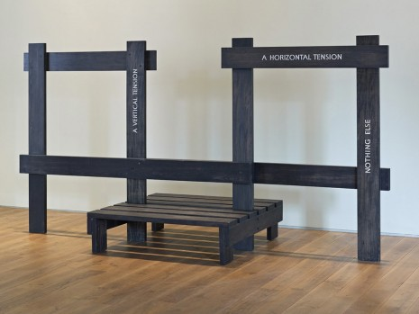 Ian Hamilton Finlay, Do you know, gentlemen, what a stile is like?, 1994, Ingleby Gallery