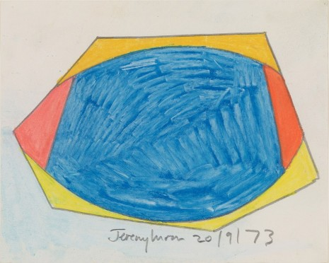 Jeremy Moon, Drawing [20/9/73], 1973 , Luhring Augustine