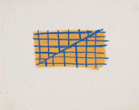 Jeremy Moon, Drawing [68], 1968 , Luhring Augustine