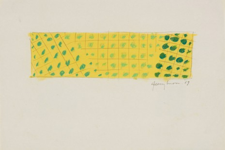 Jeremy Moon, Drawing [69], 1969 , Luhring Augustine