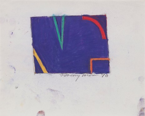 Jeremy Moon, Drawing [70], 1970 , Luhring Augustine