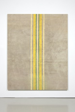 Fredrik Værslev, Untitled (Canopy Painting: Cream, Jade Green, Light Yellow and Yellow), 2012, STANDARD (OSLO)