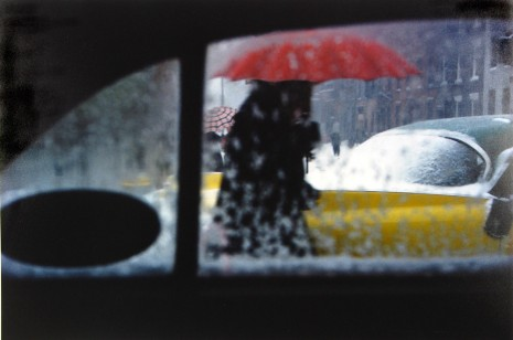Saul Leiter, Red Umbrella, c.1955 , Howard Greenberg Gallery