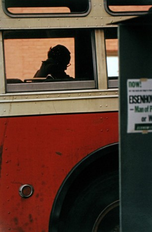 Saul Leiter, Bus, 1954 , Howard Greenberg Gallery