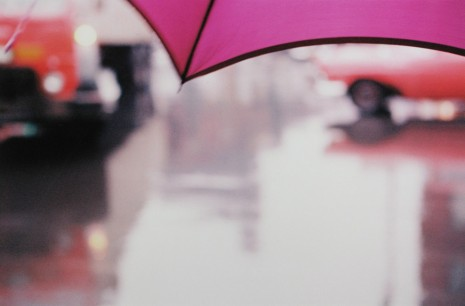 Saul Leiter, Purple Umbrella, 1950's , Howard Greenberg Gallery