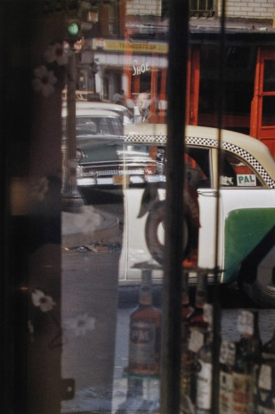 Saul Leiter, Taxi, 1956 , Howard Greenberg Gallery