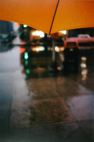 Saul Leiter, Orange Umbrella, c.1950 , Howard Greenberg Gallery