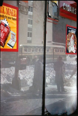 Saul Leiter, Snow Scene, 1960 , Howard Greenberg Gallery