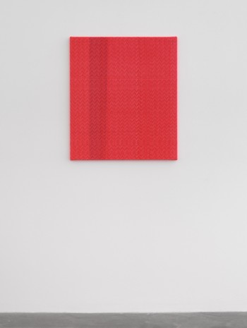 Heather Cook , Shadow Weave Fluorescent Red + Scarlet (5116) 8/2 Cotton 20 EPI, 2020, Praz-Delavallade