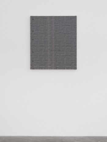 Heather Cook , Shadow Weave Black (13) + White (14) 8/4 Cotton 15 EPI, 2020, Praz-Delavallade