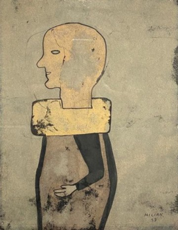 Raul Milian, HEAD OF MAN, 1957 , Pan American Art Projects