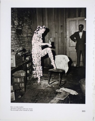 Betty Tompkins , Women Words (Weegee #8), 2017 , rodolphe janssen
