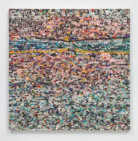 Jack Whitten , Quantum Wall, VIII (For Arshile Gorky, My First Love In Painting), 2017 , Hauser & Wirth