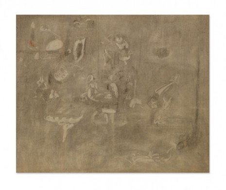Arshile Gorky, Gray Drawing for Pastoral, c. 1946–1947 , Hauser & Wirth