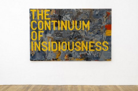 Rirkrit Tiravanija, untitled 2020 (the continuum of insidiousness) (map, 1963), 2020, Galerie Chantal Crousel