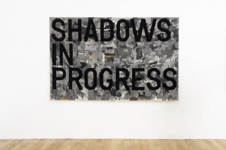 Rirkrit Tiravanija, untitled 2020 (shadows in progress) (map, 1962-63), 2020, Galerie Chantal Crousel