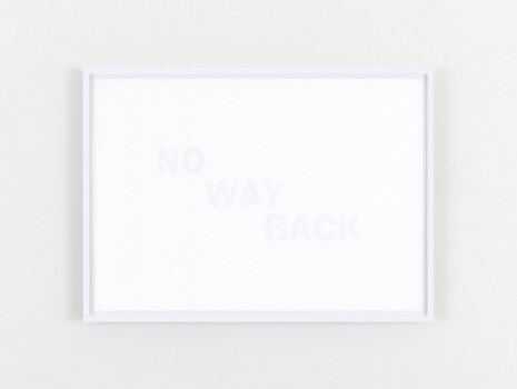 Willie Doherty, NO WAY BACK, 2020, Kerlin Gallery