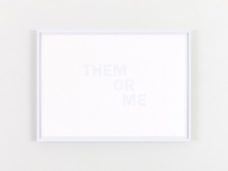 Willie Doherty, THEM OR ME, 2020, Kerlin Gallery