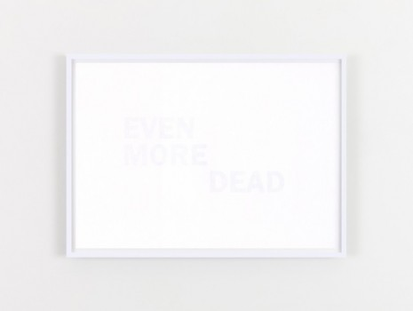 Willie Doherty, EVEN MORE DEAD, 2020, Kerlin Gallery