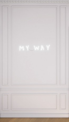 Claude Lévêque, Sans Titre (My Way), 1996, kamel mennour