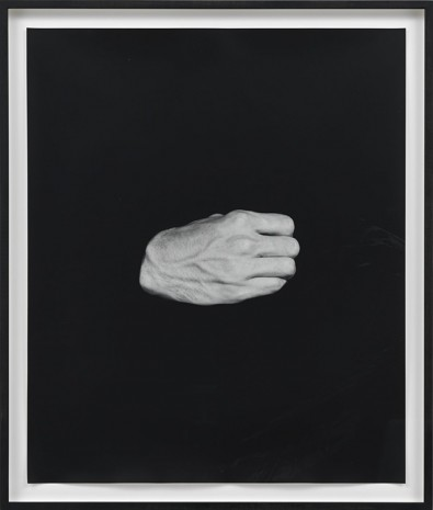 Talia Chetrit, Hand on Body (Himself), 2012, Sies + Höke Galerie