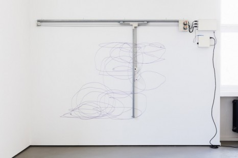 Angela Bulloch, Dynamic Stereo Drawing Machine, 2020 , Esther Schipper