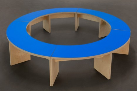 Liam Gillick , Prototype Seating For A Revised Production Centre, 2005 , Esther Schipper