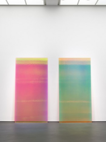 Ann Veronica Janssens, Bright Pink & Yellow, 2019 , Esther Schipper
